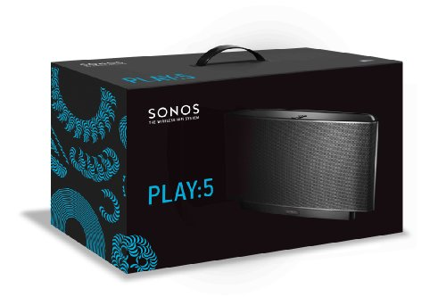 sonos play 5 gen1 black the wireless hi fi. Black Bedroom Furniture Sets. Home Design Ideas